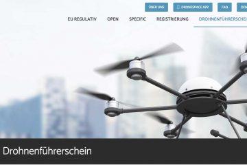 Bild Austrocontroll Startseite Dronenspace